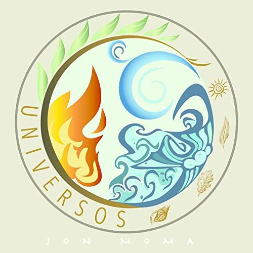 símbolos de fuego, aire y agua